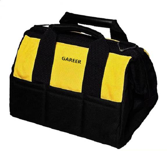 Electrician husky nylon tool bag