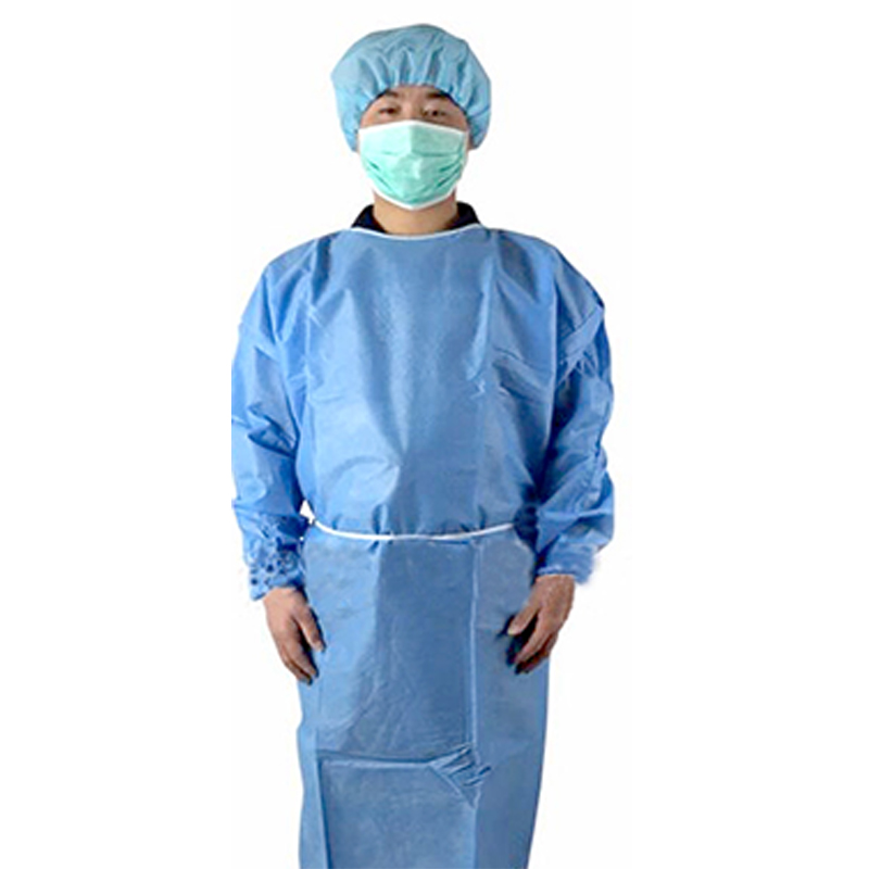 isolation gown disposable protective wear/ disposable gown for medical