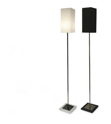 Floor lamp with retro style