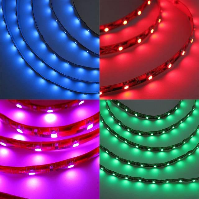 RGB/Full Color Waterproof SMD 5050LED Flexible Strip Light 30leds/60leds LED Strip Light Manufacture