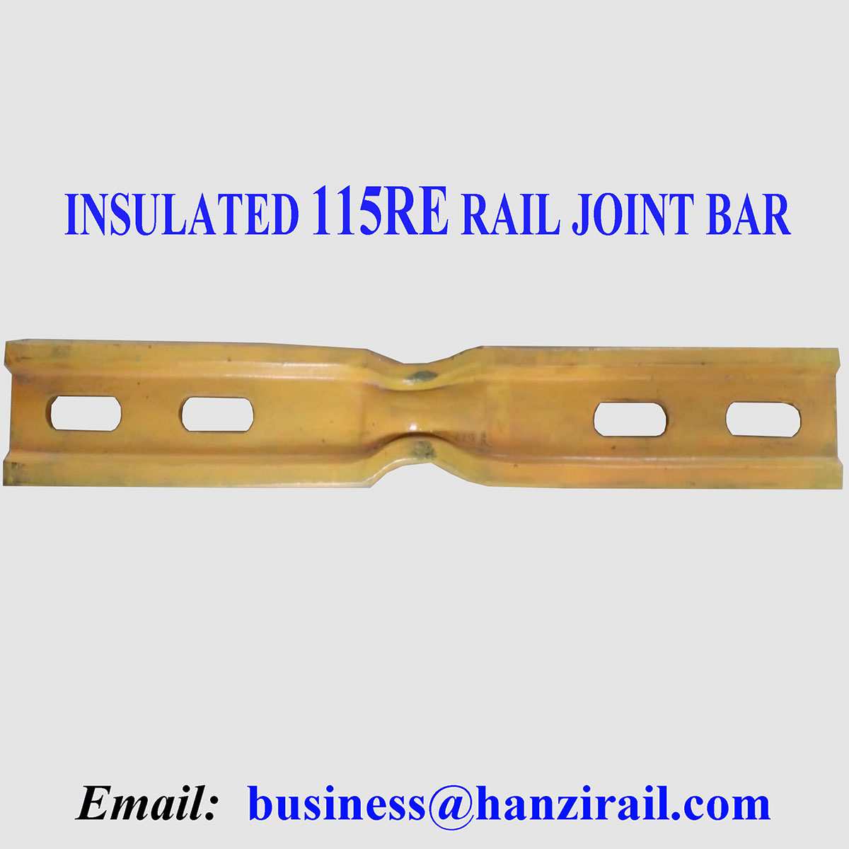 115RE Steel Rail Joint Bars