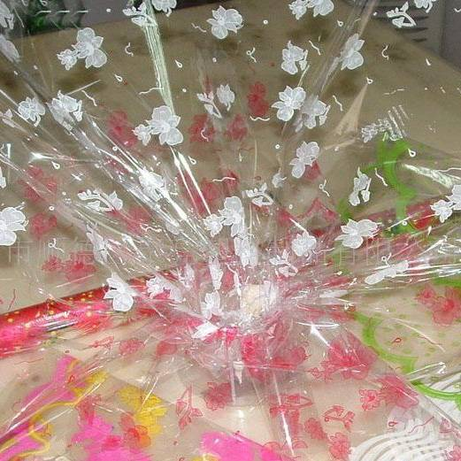 Plastic gift wrapping paper