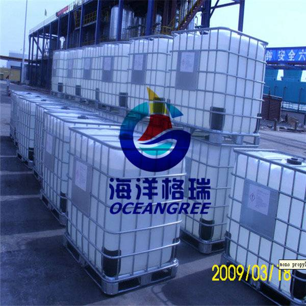Propylene glycol for aircraft deicing fluid