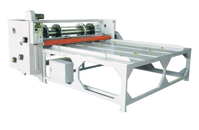 Four linkage rotary slotting Angle cutter