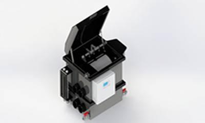 drum filter HDF 40 for 60 m3 pond