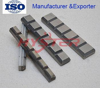 Laminated White Iron Wear Blocks Chocky Bars