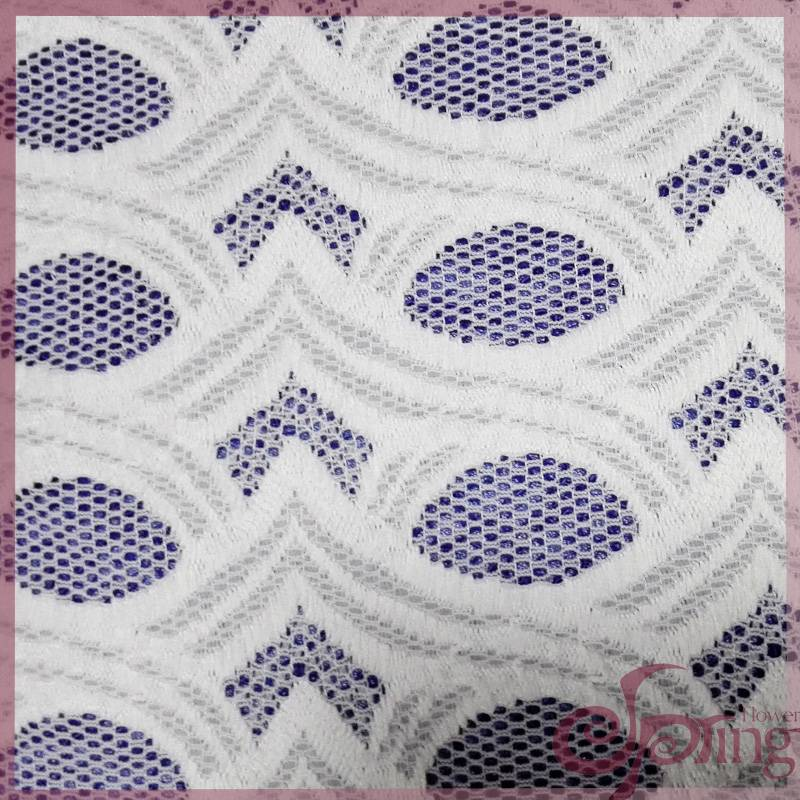 Braided lace fabric