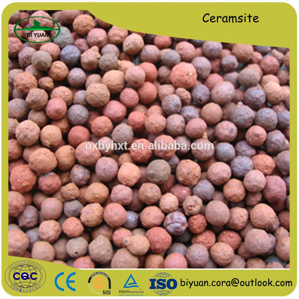 Factory supply Ceramic sand filter media/Ceramsite supplier