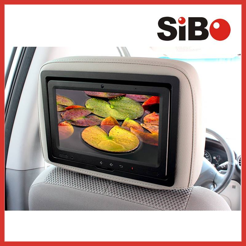 Q9 9 Inch Bus Back Seat Android Touch Screen Monitor with Wifi 3G RJ45