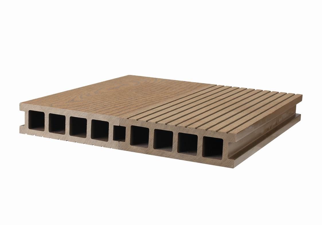 WPC DECKING / Waterproof Outdoor Floor Covering / Wood Plastic Composite Decking China/14040
