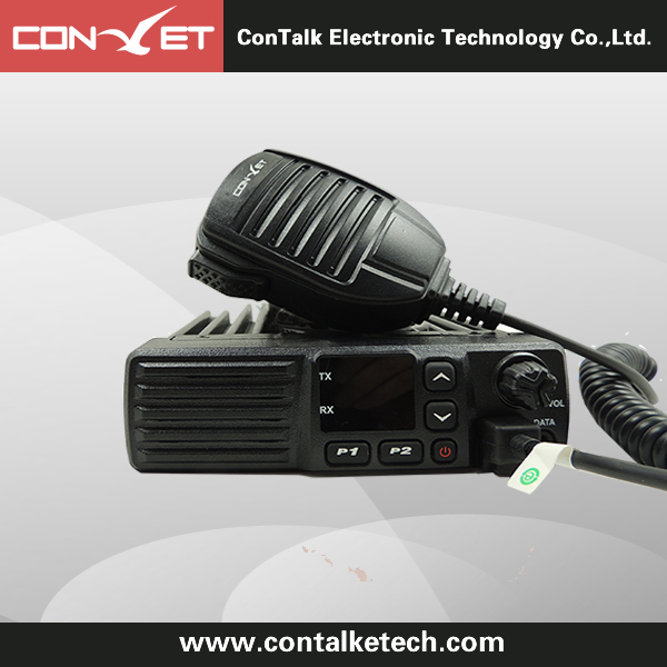 ContalkeTech 2 Way Mobile Radio CTET-AM980 UHF400-470MHz 45/25/10Watt 16CH Mobile Transceiver