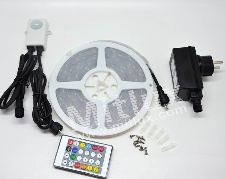 SMD5050,Digital,30leds/m,5m/roll,IP67 led strip
