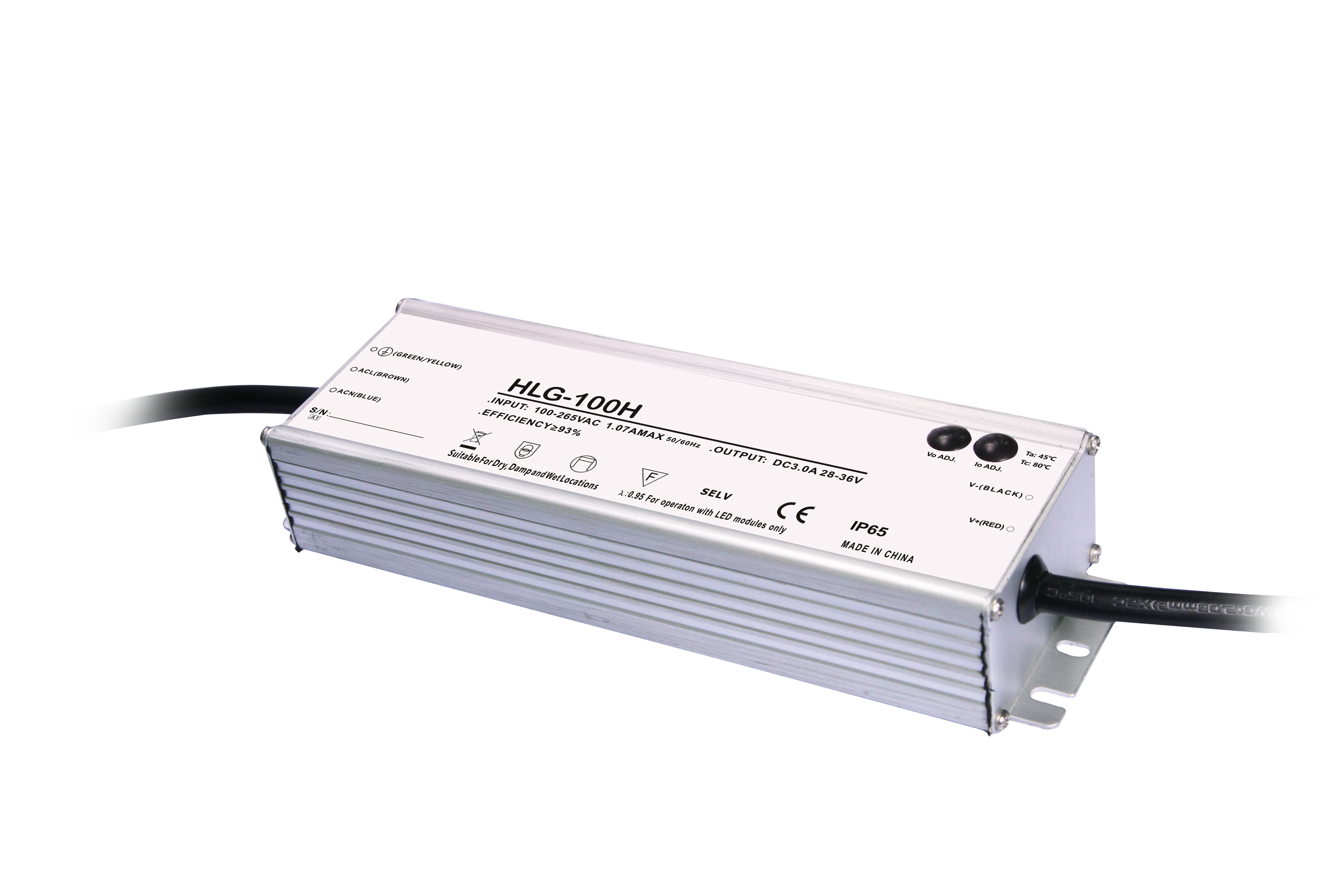 LED driver for outdoor lighting, IP66, Meanwell quality driver, SKD/CKD solution