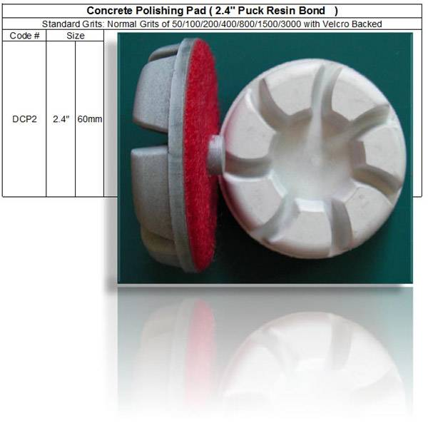 Concrete Polishing Pucks 2.4 inch