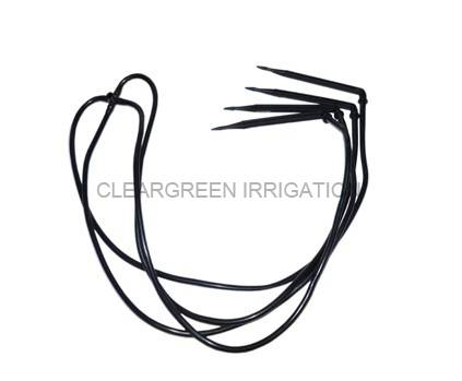 Four-out Bend Drip Arrow for Flower and Plant Irrigation