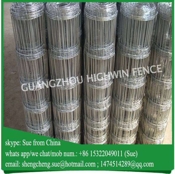Galvanized Livestock cattle fence panels for export