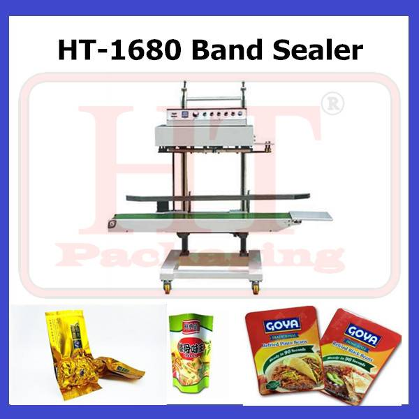 HT-1680 Plastic Bag Heat Sealing Machine