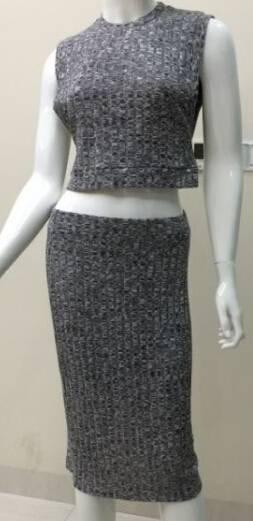 women set bodycorn dress with skirt