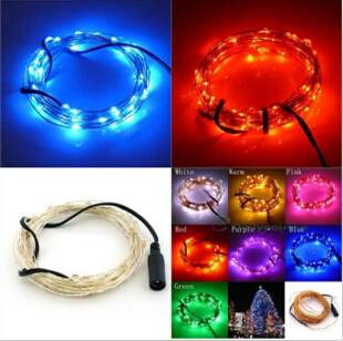 5M 50 LED Decorative String Fairy Light for Christmas Wedding Party