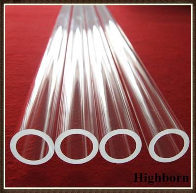 clear quartz glass tube