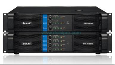 Multi channel professional power amplifier FP series