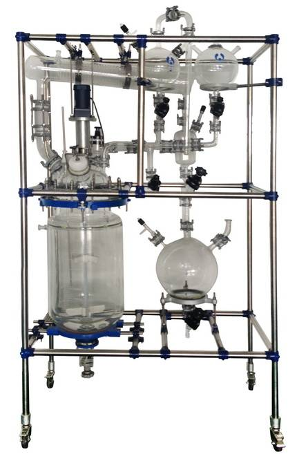 Multifunctional Glass Reactor System