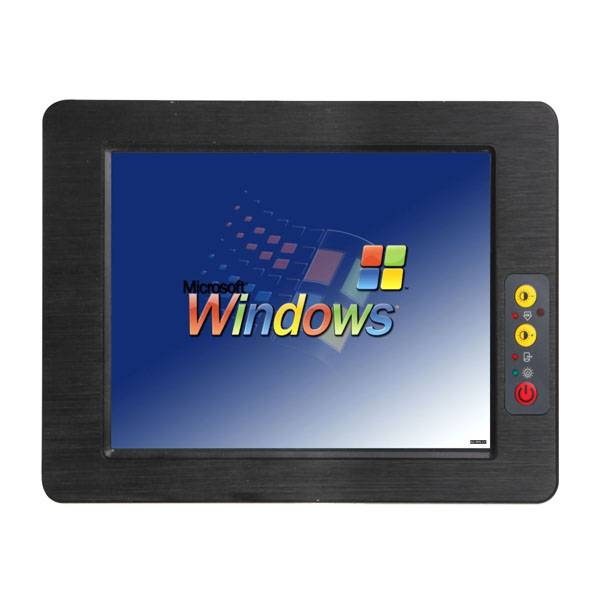 12 inch fanless touch screen Industrial Tablet PC IPPC-121C