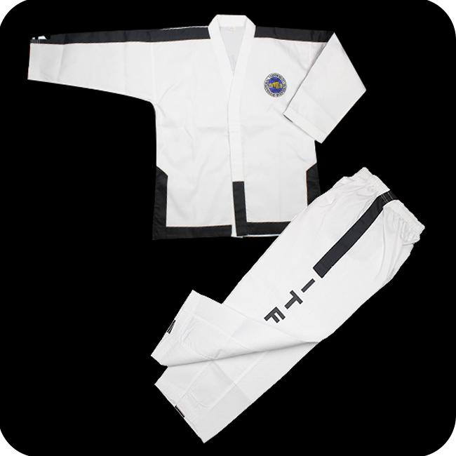 UWIN Classic design V -Neck taekwondo uniforms manufacturers
