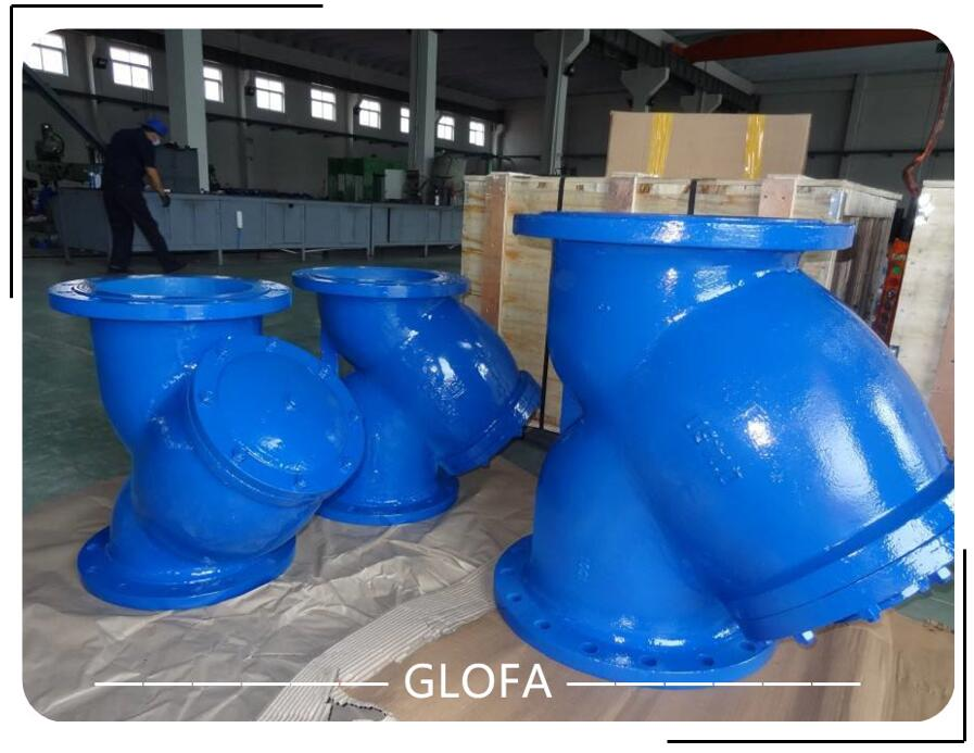 Cast Iron GG25 Flanged Y Strainer