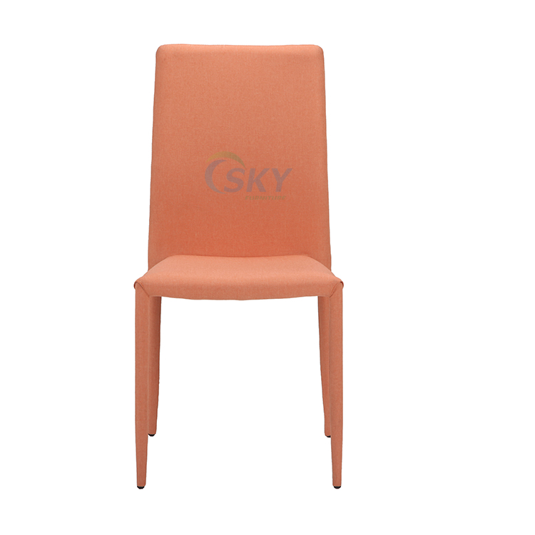 pu leather dining chair, side chair