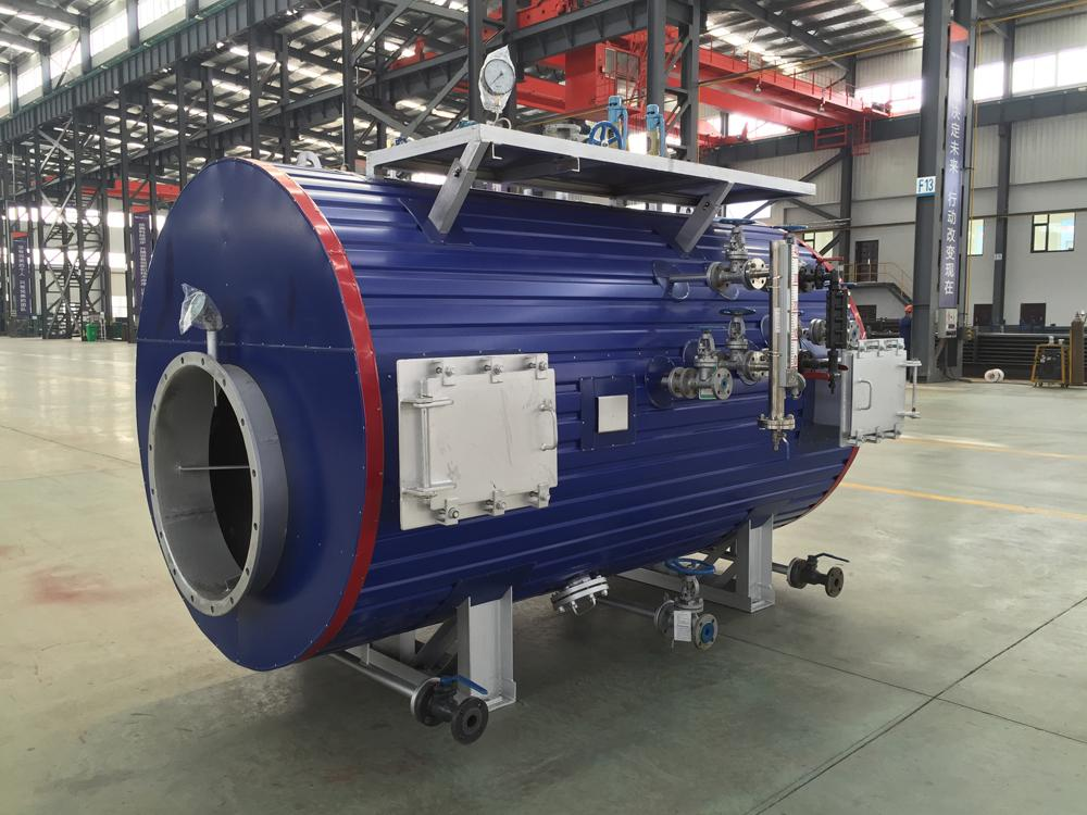 23000KW Heavy Fuel Oil Engines Exhaust Gas Boiler For Power Plant Project