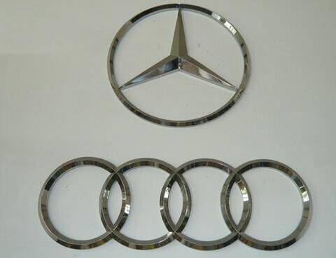 Automobile Parts with Spare Parts and Car Accessories Signs