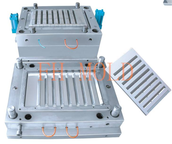 Vertical air conditioner mold