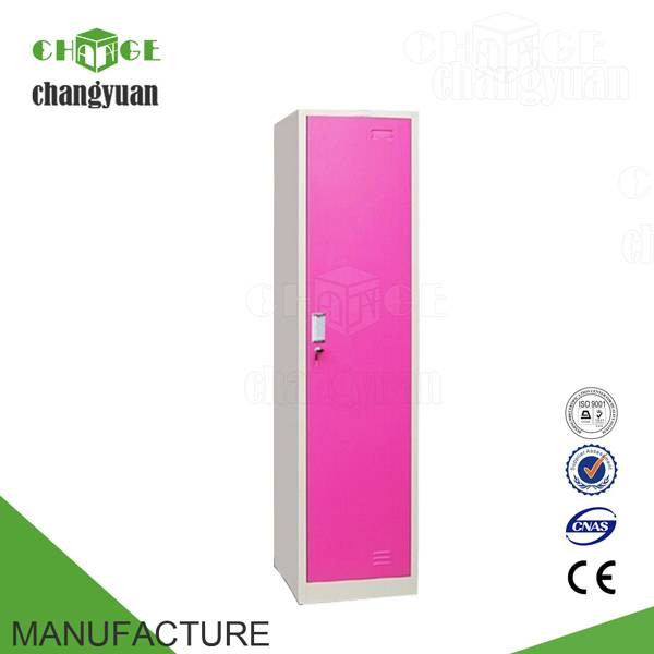 single  door  colourful  steel  locker /metal  locker / bedroom  furniture