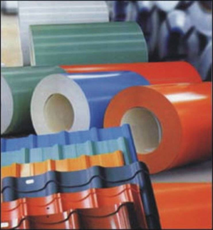 PPGI  GI color coated galvanized steel coils