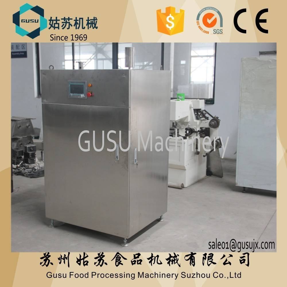 GUSU chocolate tempering adjustable machine for production line