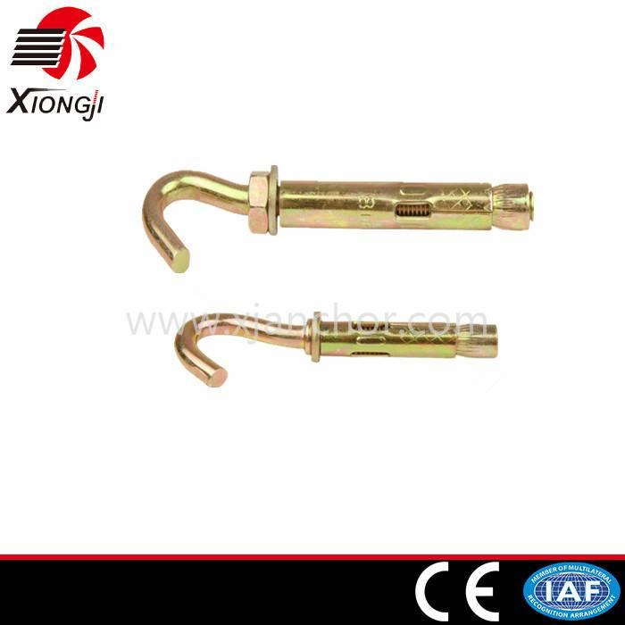 Carbon Steel Zinc Bolt Sleeve Hook Anchor