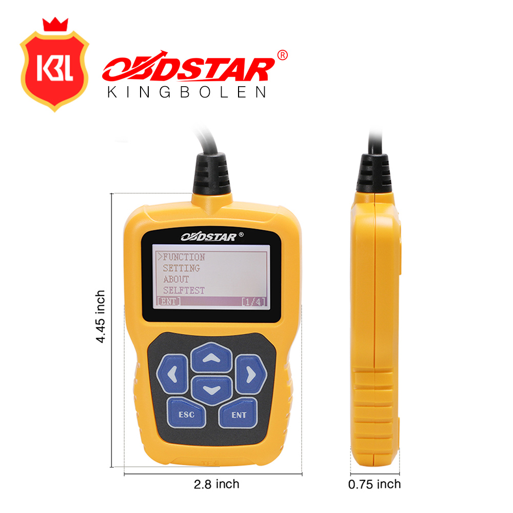 OBDSTAR J-C calculating pin code Immobilizer tool covering wide range vehicles