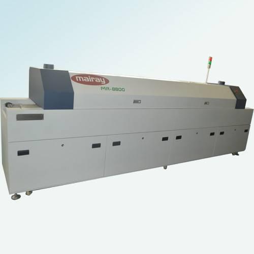 MR-8800 small 8 zone reflow oven