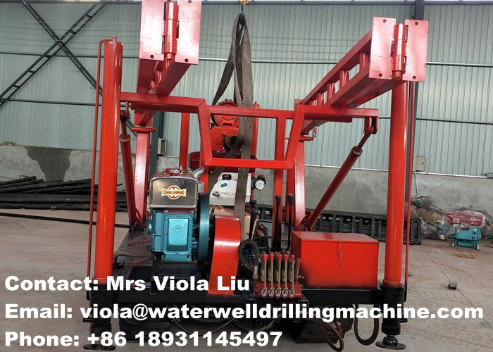 Geotechnical Core Drilling Rig Overseas Directly Supply