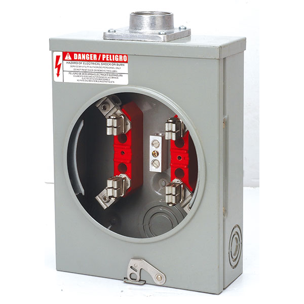 Milbank 125 Amp Single Phase Energy Meter Socket