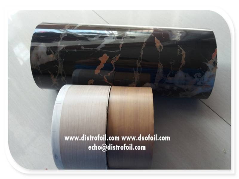 Marble thermal transfer foil for MDF,PVC,PS,ABS