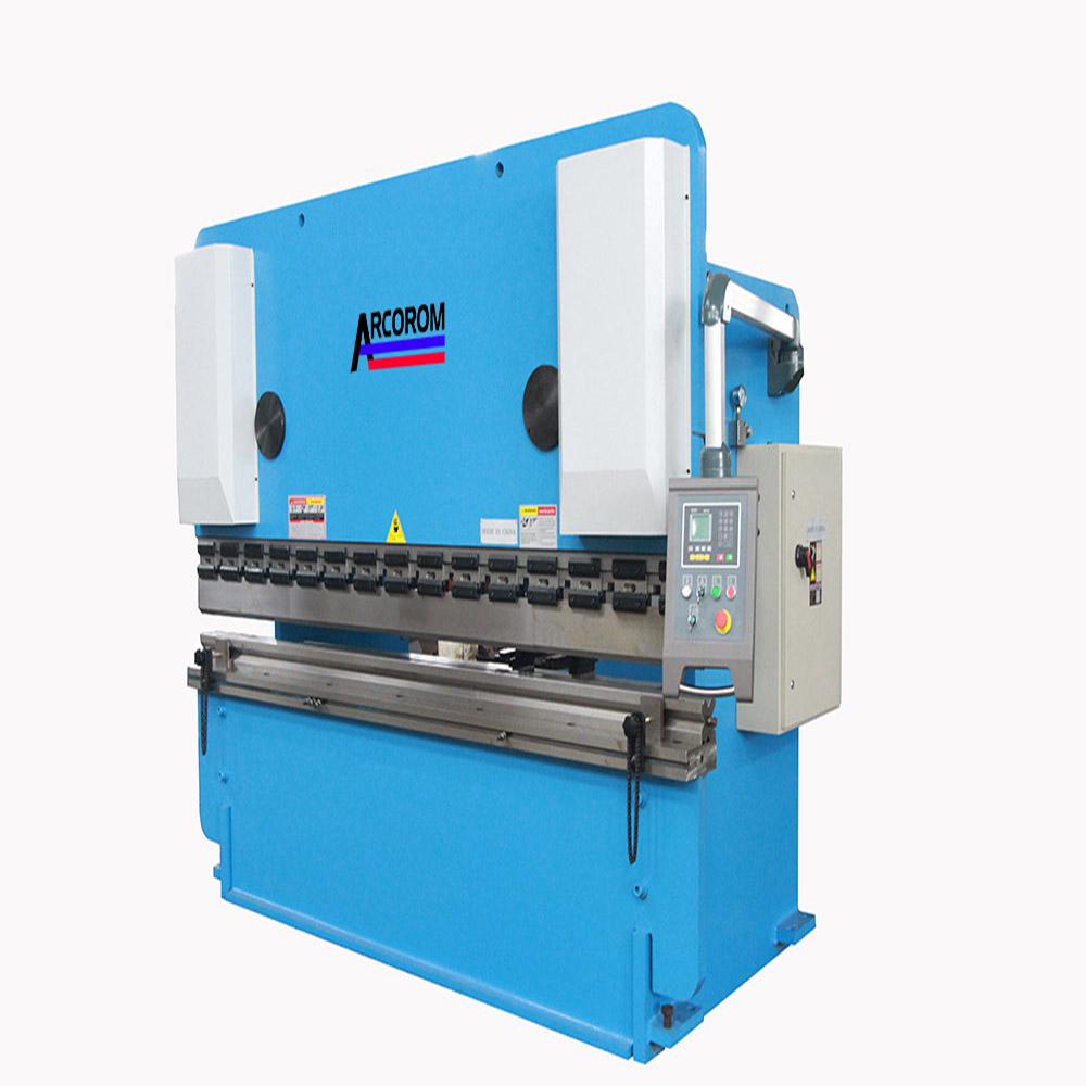 Double Linkage WF67K 80ton 2200 Hydraulic Folding Machine/80TON 3.2meters Bending Machine/Sheet Meta