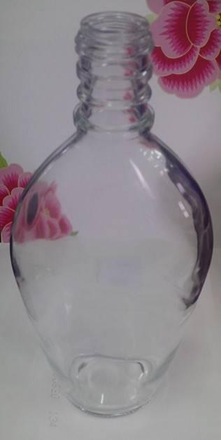 Glass bottles for RUM