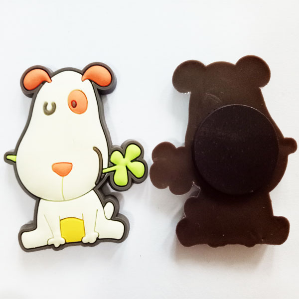 Sticky Cute Dog Fridge Magnet PVC Souvenirs Plastic Crafts