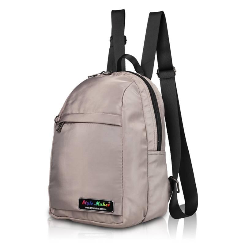 Small Soft Nylon Girl/Lady Backpack GF-077