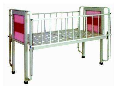 Metal Flat Kids Care Bed