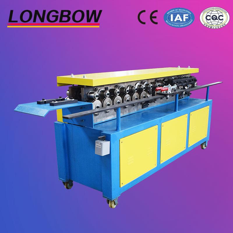 galvanized steel TDF duct flange making machine/TDF flange forming machine