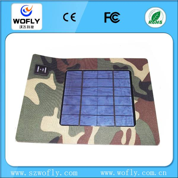 3w solar charger for bag