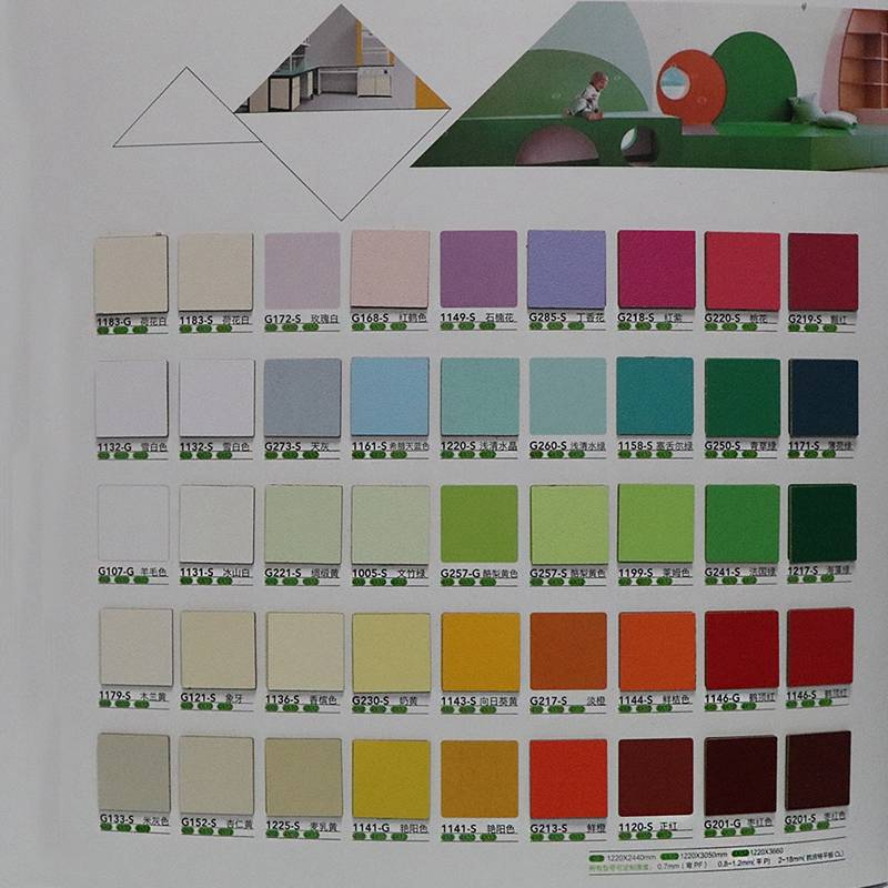 Solid phenolic resin hpl panel/laminate colors/solid color laminate